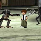 Ben 10 Vs Predator Action