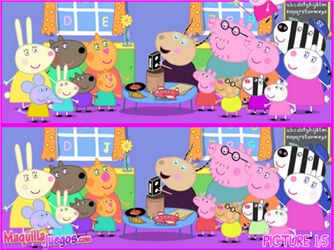 peppa pig differences en ligne gratuits. Black Bedroom Furniture Sets. Home Design Ideas