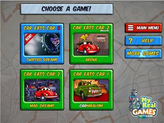 Car Eats Car 3 Racing Games K7x Com Free Online Games